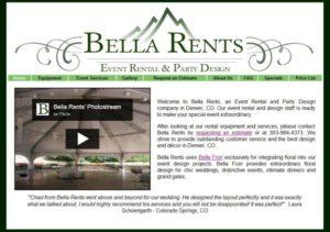 Bella Rents (HTML, Javascript, MySQL & PHP)