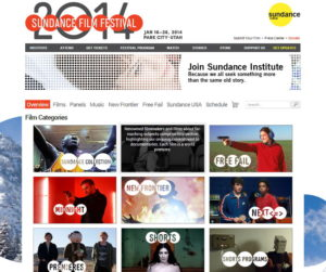 Sundance Filmguide Screenshot