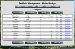 Web Site Management Software Screenshot